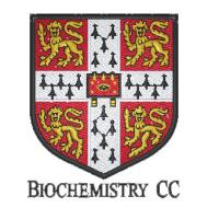 Biochemistry Department of Cambridge University Cricket Club's logo