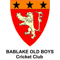 Bablake Old Boys Cricket Club's logo