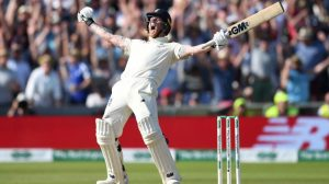 Picture of Ben Stokes celebrating - sourced from original article by Wisden.com