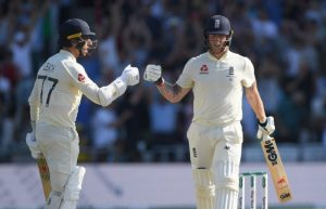 Jack Leach played his part in an epic partnership
