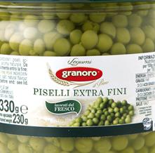Extrafini peas