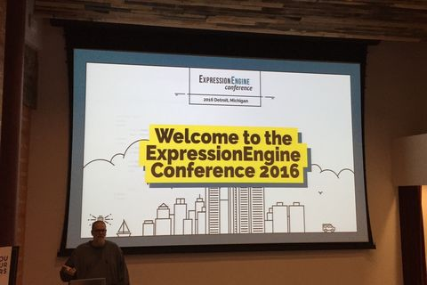 Expression Engine Conference opening JPG