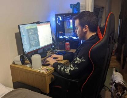 Matt workstation
