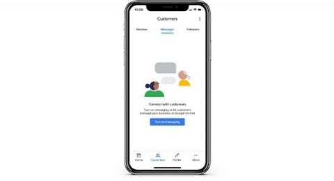 GMB messaging mobile app