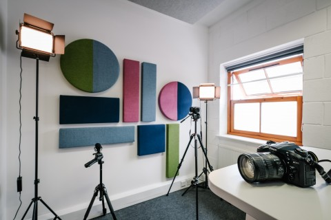 A Digital Podcast Studio Kendal