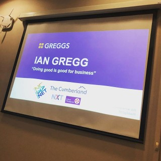 Wonderful to hear about the Greggs story from Ian Gregg last night. Inspiring to learn they give over 300,000 kids a decent breakfast every morning