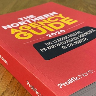 We're so excited to finally get our hands on the Prolific North Northern Agency Guide featuring the most successful and thriving agencies in the North 🎉 (you'll find us on page 145😉) ⠀ ⠀ It's taking pride of place in our studio... 📚 ⠀ ⠀ Thanks again Prolific North for including us in your first-ever agency bible