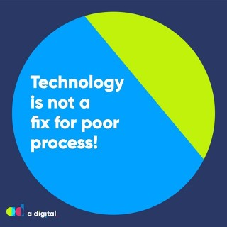 Technology is not a fix for poor process. Fix the process first then explore the tech that can support the operation of that process.