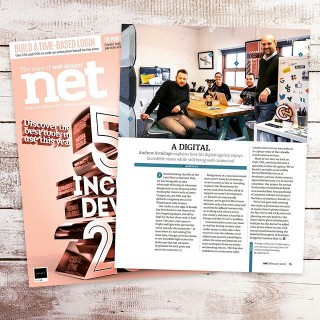 Exciting to see us feature in the Workspaces piece published in the February issue of .Net Magazine. One of our team was away on the day of the photo but it captures part of our studio and what we love about working on the edge of the Lake District.Projects this year have seen us work in Canada, Florida, Mallorca and Germany, and October saw a win at the Northern eCommerce Awards in Manchester. Bring on the 2020's - I cant wait to see what the New Year has in store - and thanks to everyone who has placed their trust in us to make an impact on their businesses.