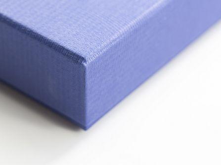 Blue Embossed Box