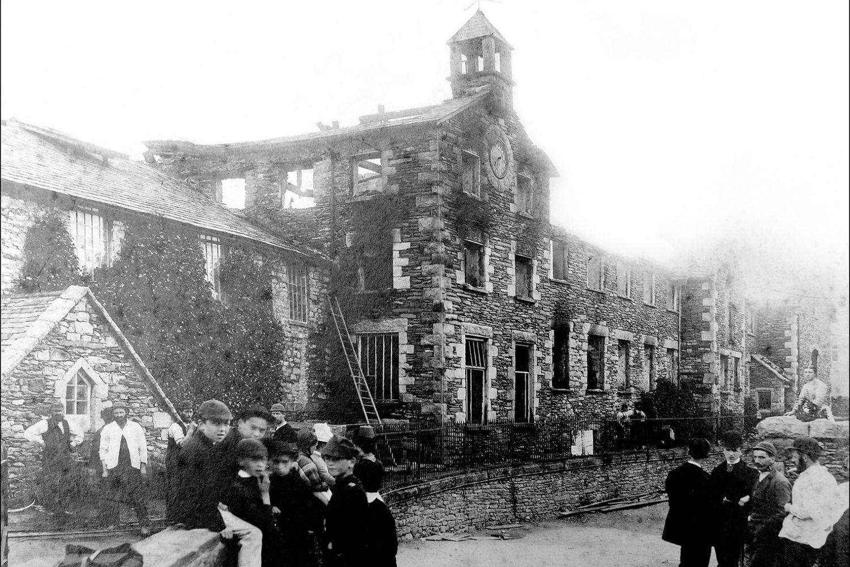 Burnt Mill July 4th 1886