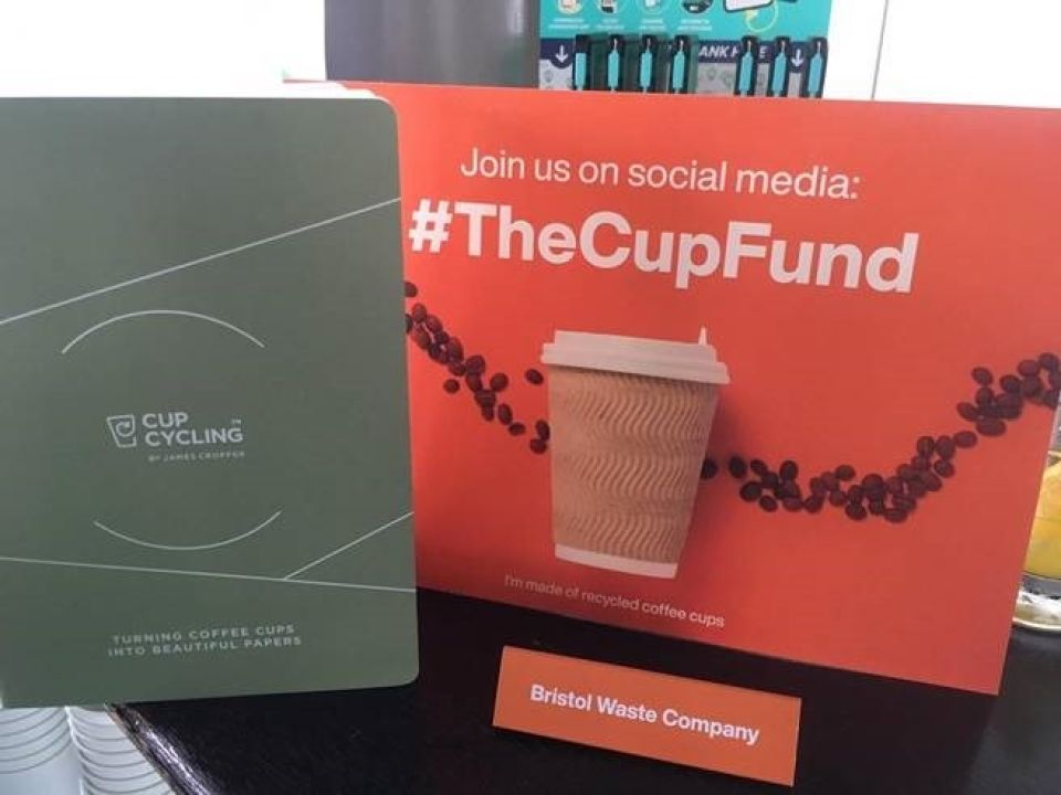 The cup fund photo notepad