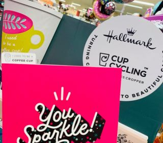 Card stand Morrisons