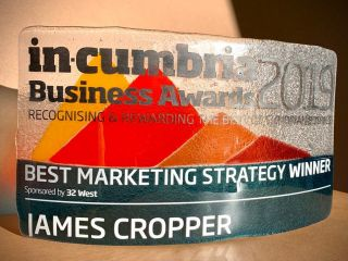 In Cumbria Marketing WINNER award Nov 2019