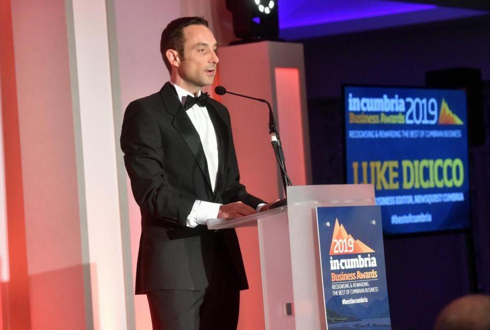 In Cumbria award Nov 2019 Luke dicicco