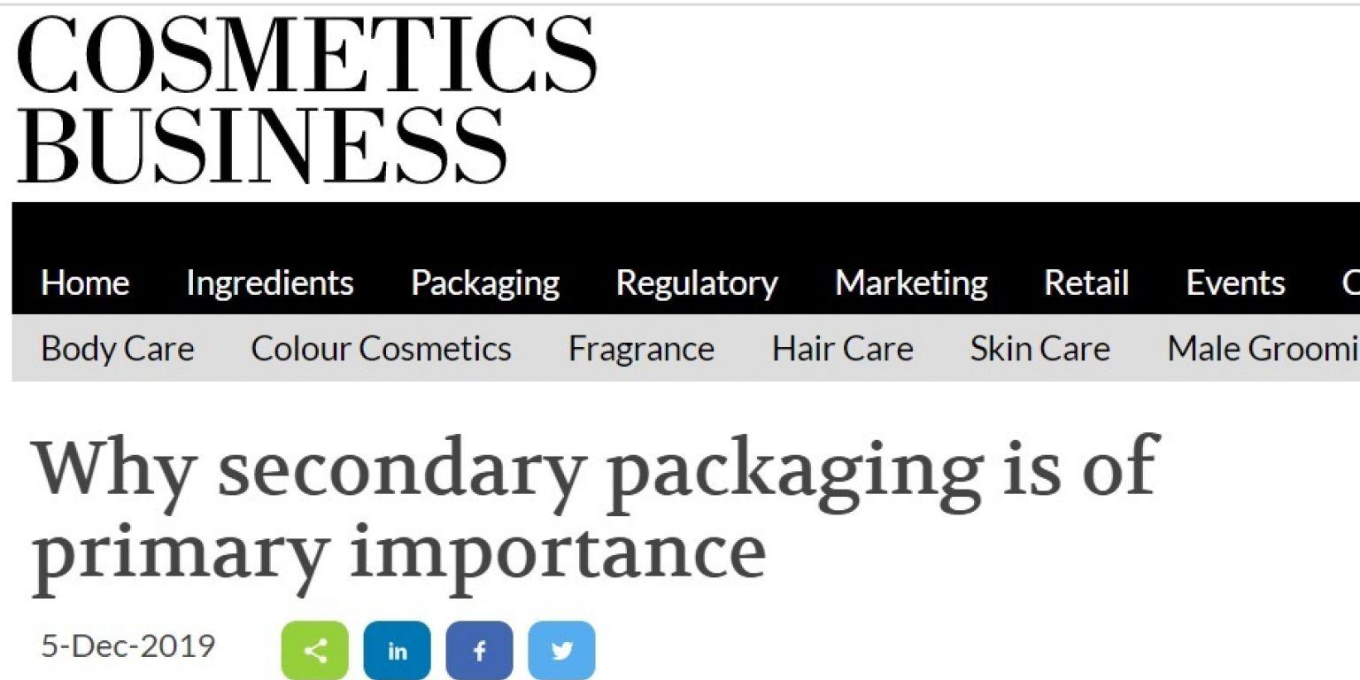 Cosmetics business