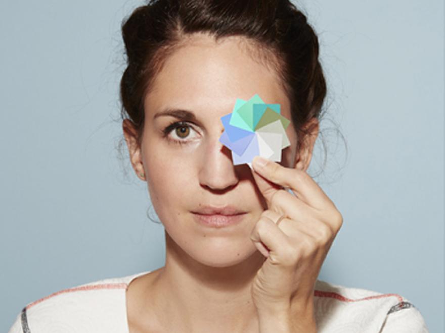 Lancome designer Maud Vantours