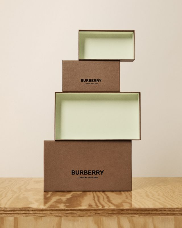 2019 Burberry boxes inside
