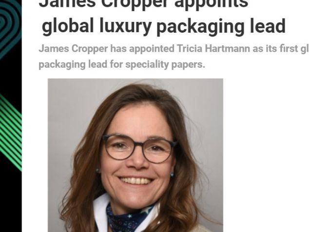 Tricia hartmann coverage James Cropper