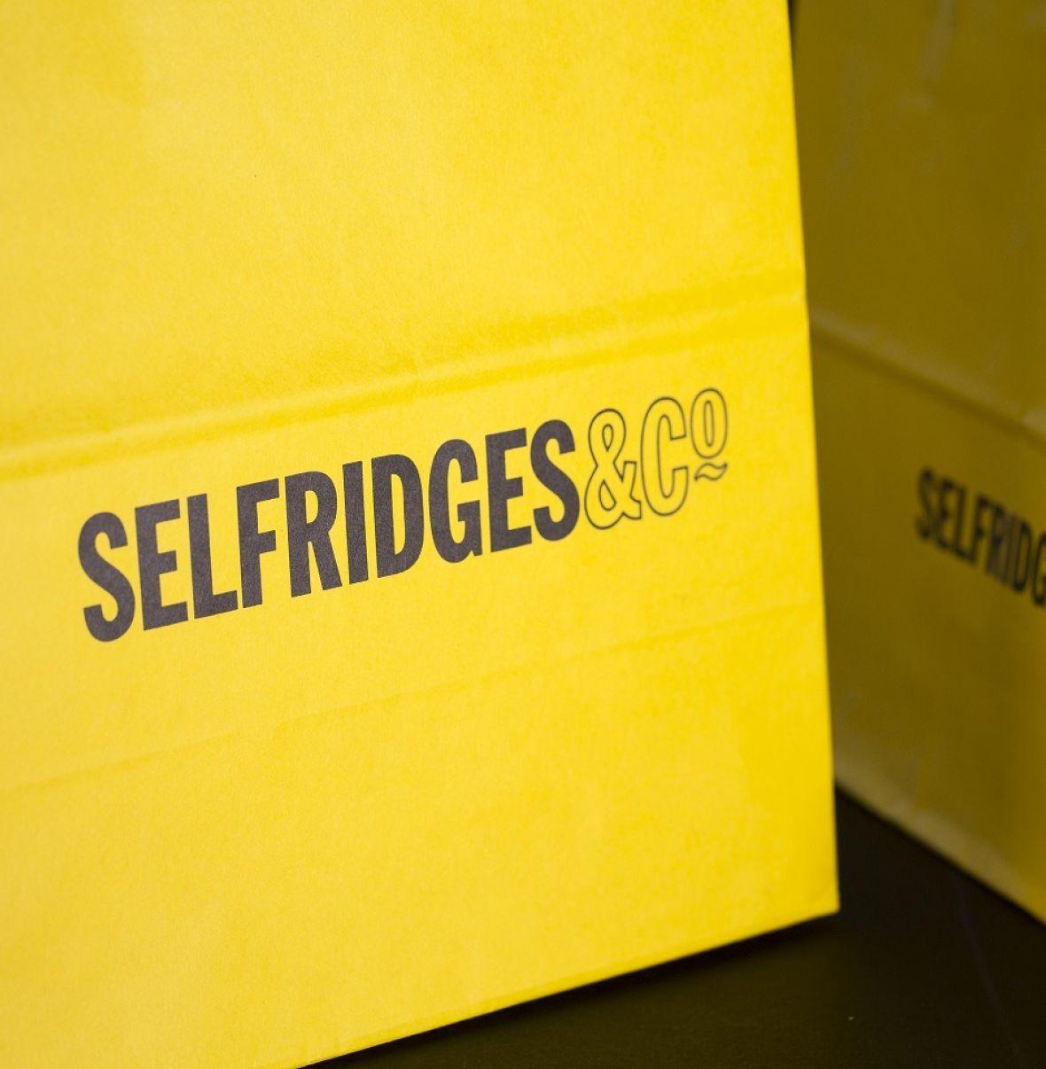 Selfridges Paper Bag