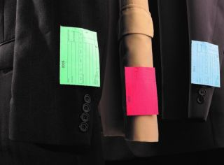 Mill Collection Laundry Tag shades