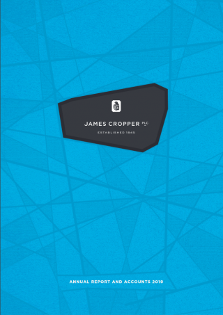 James Cropper Annual Report 2019