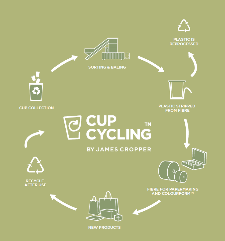 Cup Cycling Infographic