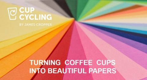 Turning Coffee Cups into Beautiful papers