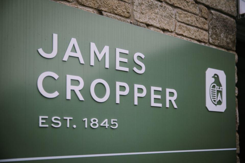 James Cropper sign