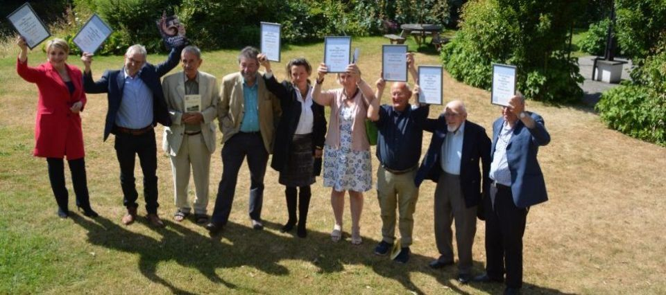 Lakeland Book of the Year winners and judges e1533566424342