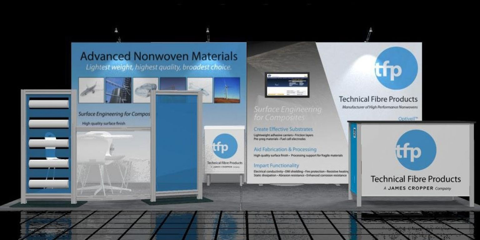 Us exhibition stand new