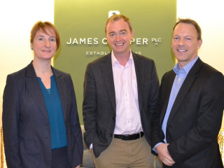 Tim farron at james cropper