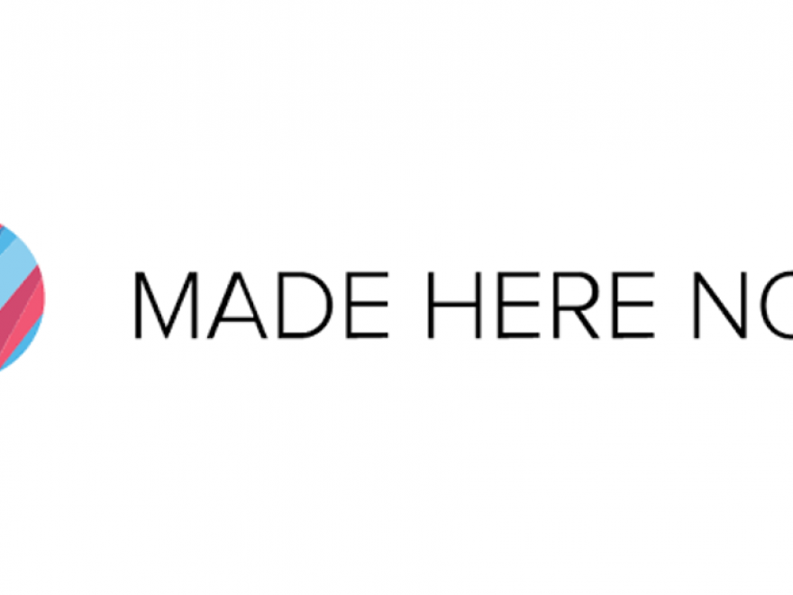 Made here now logo