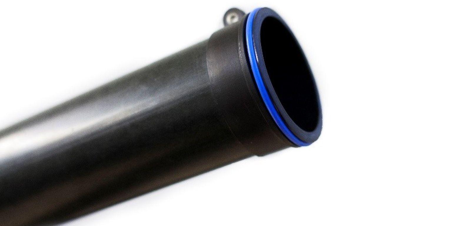 Lightweight composite pipe