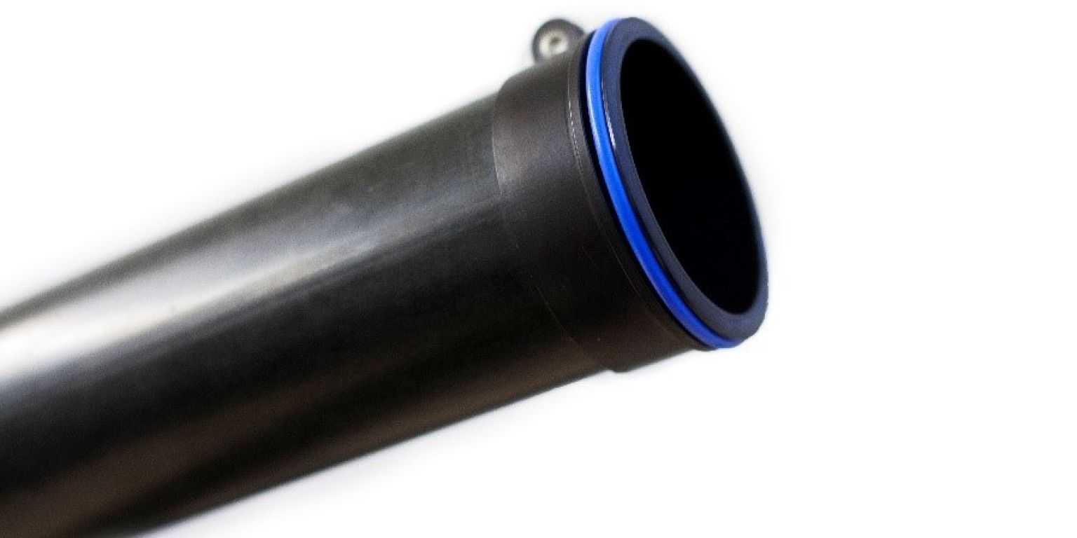 Lightweight composite pipe