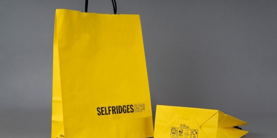 Selfridges Bag with Cup Cycling