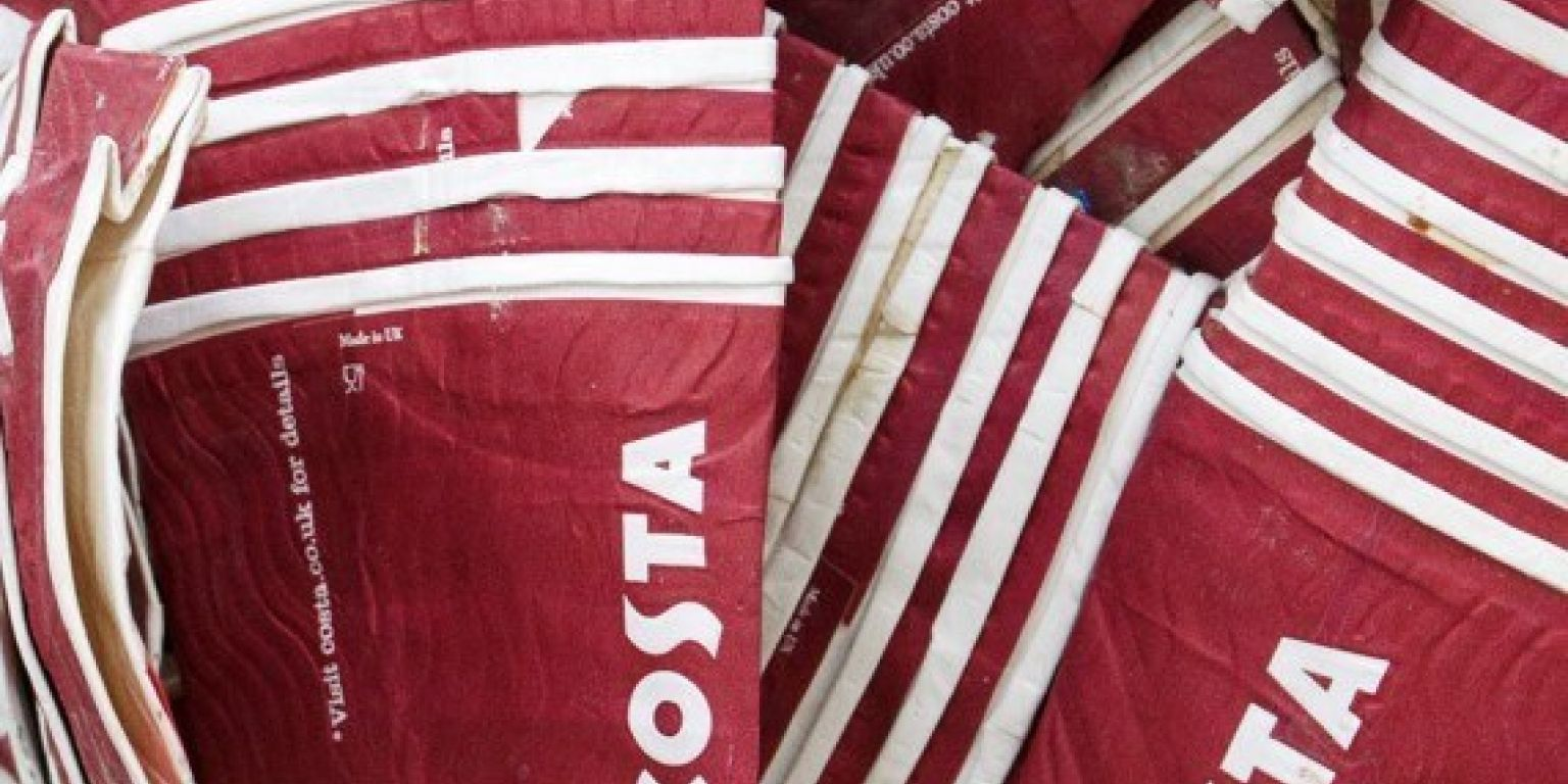 Costa Coffee Announces Commitment To Recycle Half James