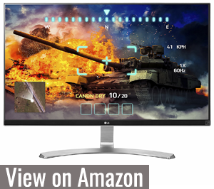 LG 27UD68 - Best 4K Monitor for Xbox One X
