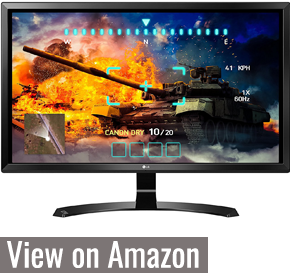 LG 27UD58 - Best Monitor for Xbox One X
