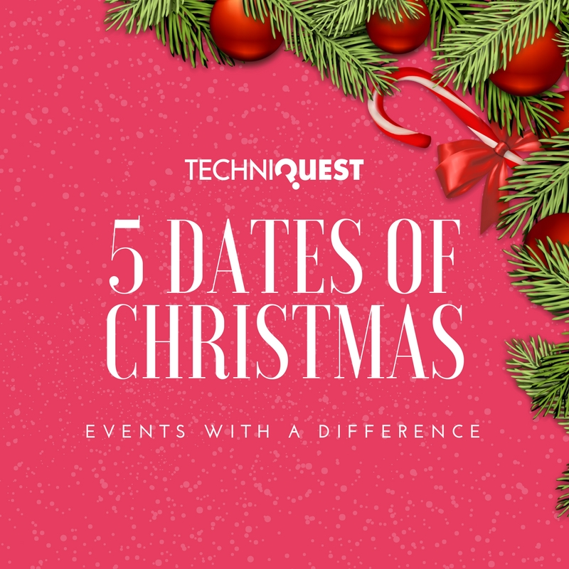 Techniquest 5 dates of Christmas for Event Planners