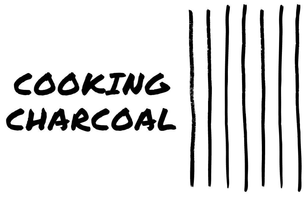 cooking charcoal