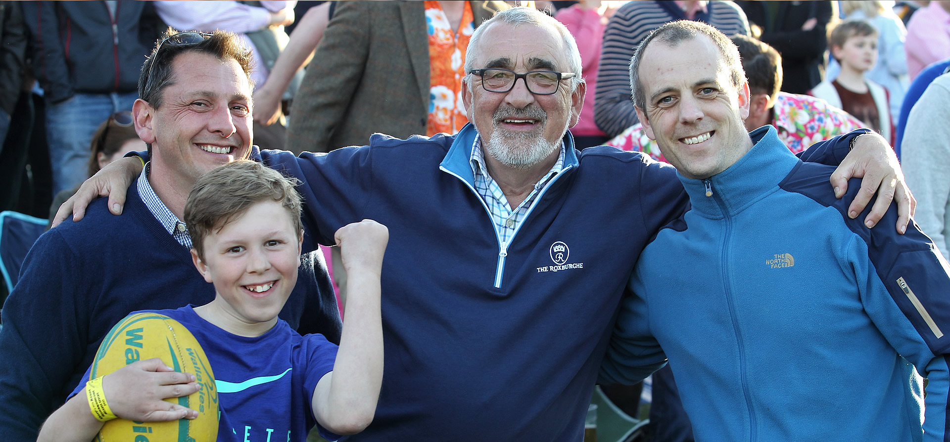 Melrose Sevens enjoyed by families