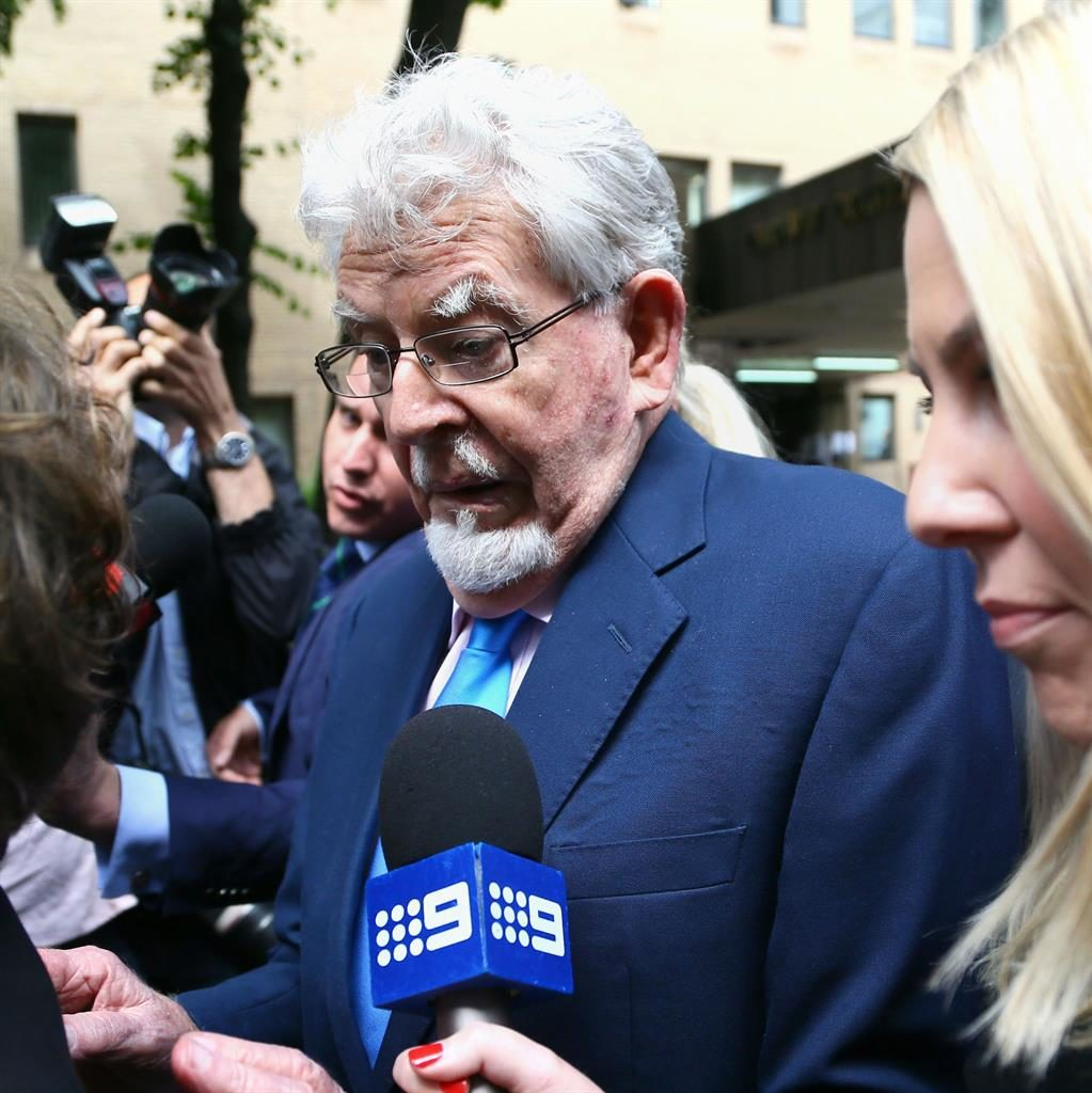 Rolf Harris stood accused of four sex attacks between 1971 and 1983