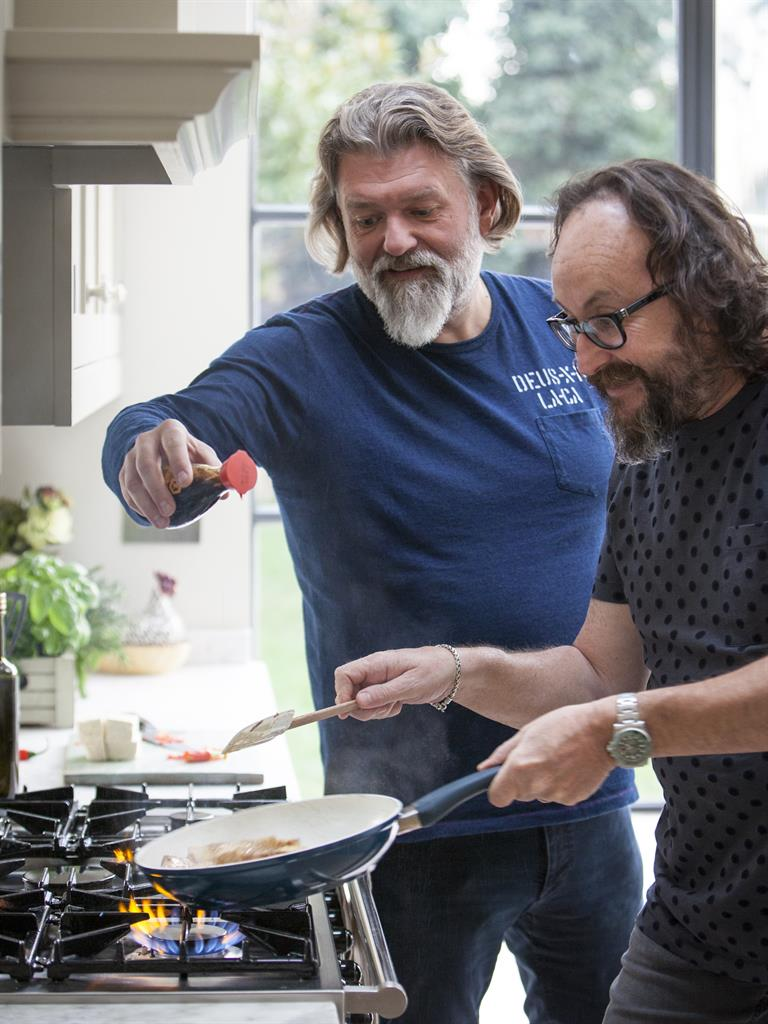 the hairy bikers go vegetarian in their latest challenge | metro