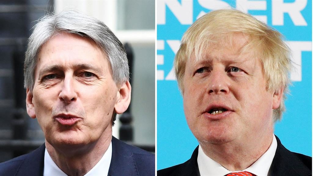 Replacement Hammond and Johnson are favourites to take over from May