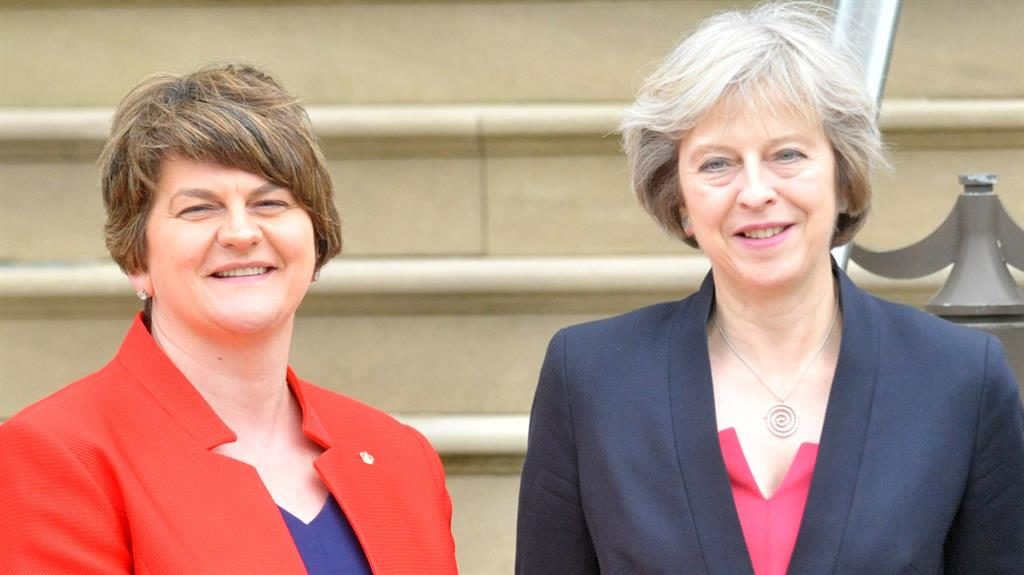 'Anxiety and fear' over Tory-DUP deal: Sinn Fein