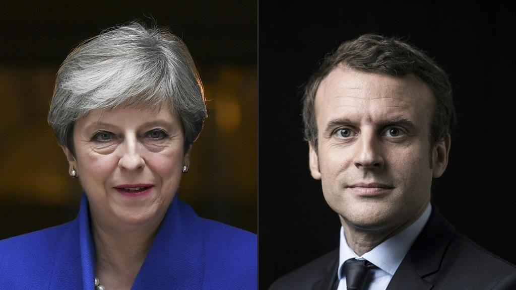 May and Macron to target internet giants over
