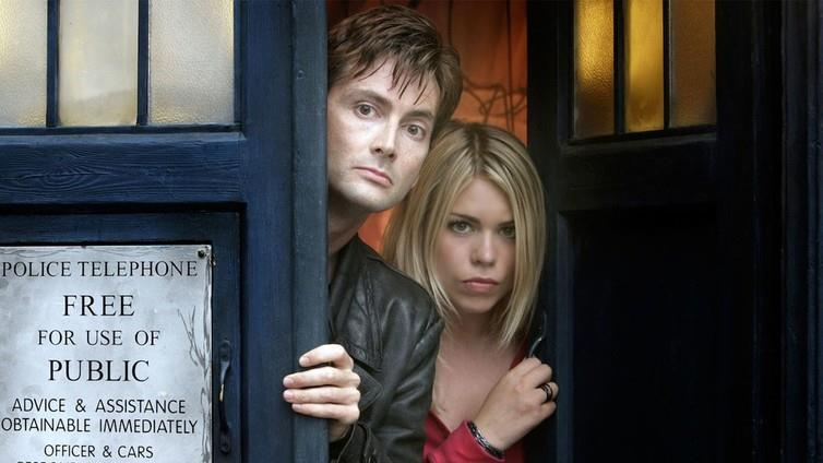 Coming back: David Tennant and Billie Piper are reuniting for a podcast version of Doctor Who PICTURE: BBC PICTURES