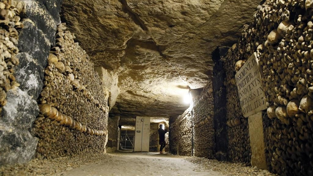 Paris catacombs: Missing boys rescued after three days