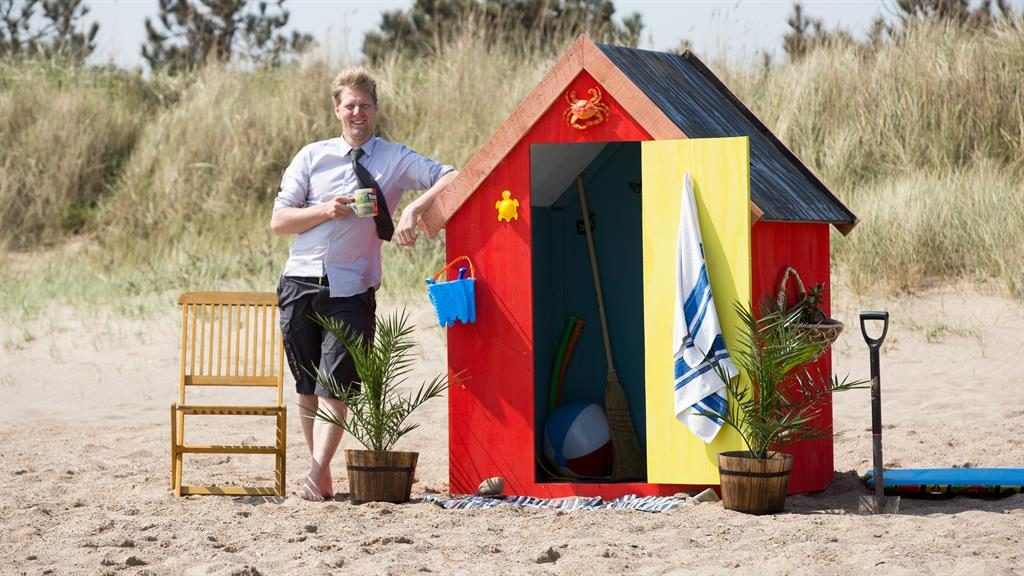 Little wonder: There's more to beach hut than meets the eye